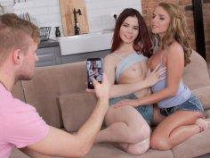 Lovenia and#38; Sofi in Threesome