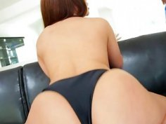 Stunning Latina Selena enjoys interracial sex with Lex